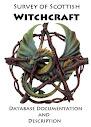 Levantamento da documentação de banco de dados Witchcraft escocês e Descrição